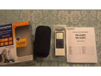 OLYMPUS DIGITAL VOICE RECORDER VN-415PC 2GB