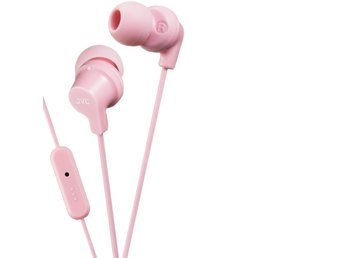 JVC Hörlur FR15 In-Ear Mic Rosa