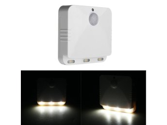 Wireless PIR Motion Sensor LED Night Light Battery Operat...