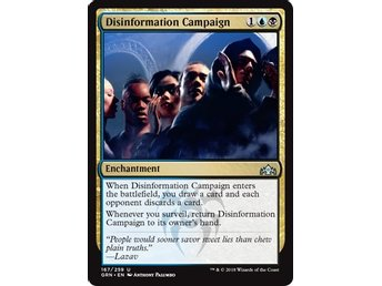 Disinformation Campaign - Magic The Gathering