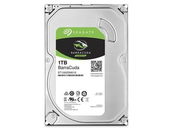 "Seagate BarraCuda Desktop HDD 3,5"" 1TB, 64MB, 7200RPM"