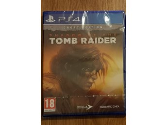 Shadow of the Tomb Raider PS4 spel!  KORT AUKTION!