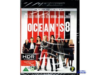 OCEANS 8 4K ULTRA HD + BLU-RAY