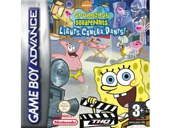 Spongebob Squarepants: Lights, Camera, Pants - Gameboy Advance