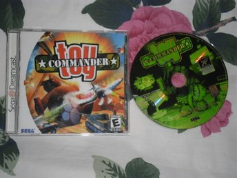 SEGA Dreamcast: Toy Commander (AMERIKANSKT)