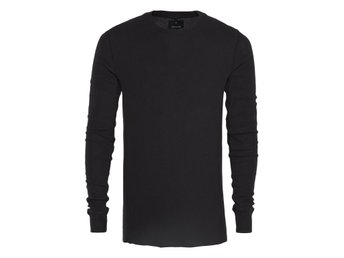 JUNK de LUXE Military thermal tee black stl XXL , helt ny