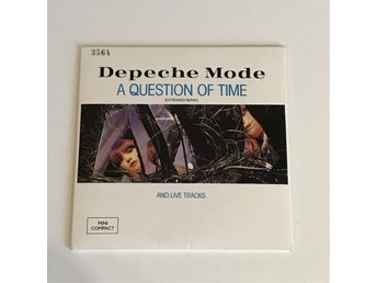 Depeche Mode - A question of time and live tracks - Nr. 3564 - CD