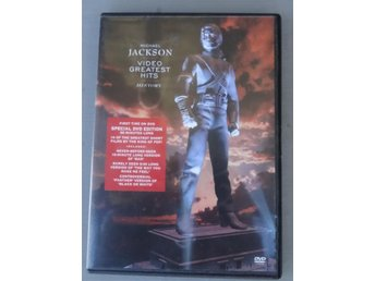 Michael Jackson - Video Greatest Hits - History - DVD - Järfälla - Michael Jackson - Video Greatest Hits - History - DVD - Järfälla