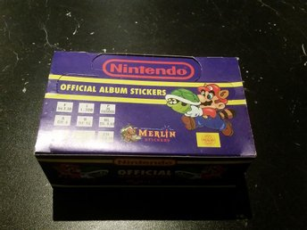 NINTENDO OFFICIAL ALBUM STICKERS BOX - Sandviken - NINTENDO OFFICIAL ALBUM STICKERS BOX - Sandviken