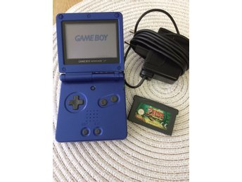 Gameboy Advance SP med flera spel