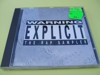 Warning Explicit - The Rap Sampler - PROMO - 1996 - CD - Odensbacken - Warning Explicit - The Rap Sampler - PROMO - 1996 - CD - Odensbacken