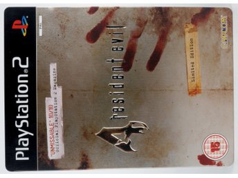 Resident Evil 4 Limited Edition (Steelbook) - PS2 - PAL (EU)