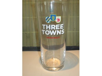 THREE TOWNS 0,4 L. ÖLGLAS