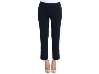 Ermanno Scervino - Blue Stretch Cropped Capris Pants