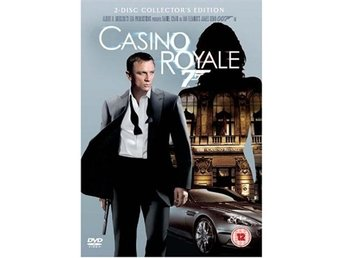 Casino Royale James Bond 2-disc Collectors Edition 2006  DVD