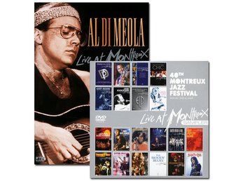 Di Meola Al: Live at Montreux 1986/1993+Sampler (DVD)