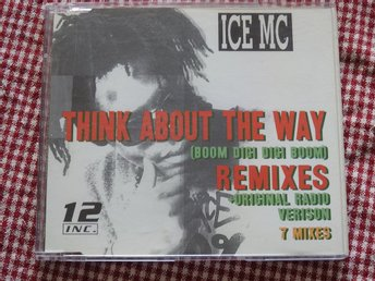 ICE MC - Think about the way (Boom Digi digi boom) CD Single Remixes