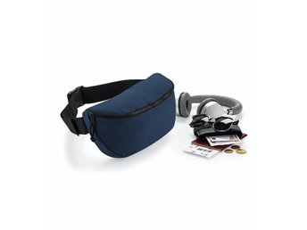 Oversized belt bag, french navy