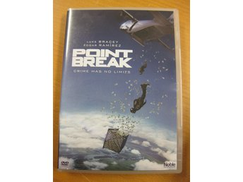 POINT BREAK - LUKE BRACEY, EDGAR RAMIREZ- DVD 2016