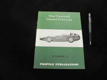 The Vanwall Grand Prix Car (#8 Profile Publications)