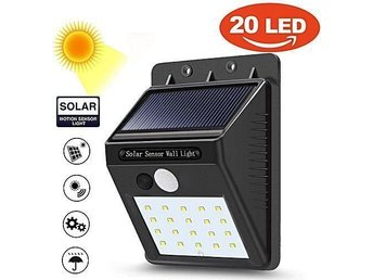 Solar cell motion sensor light, solar panel
