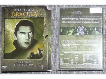 Dracula The Legacy Collection Bela Lugosi DVD 3 Disc