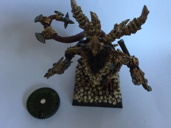Wound counter tilll Warhammer Age of Sigmar, 9th Age, 40k mm