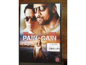 DVD Pain & Gain - Mark Wahlberg, Dwain Johnson