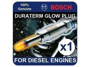 BOSCH Glow Plugs For BMW 1/3/5/6/7/X3/X5/X6 Series ( New & Sealed )