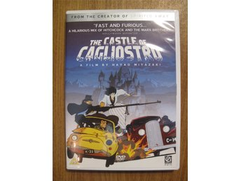 The Castle of Cagliostro (DVD, anime, Miyazaki, Studio Ghibli)