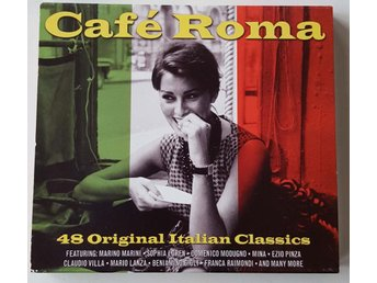 VARIOUS - CAFE ROMA     2 CD
