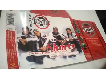 Imajin - Shorty (You keep playing' with my mind), CD promo