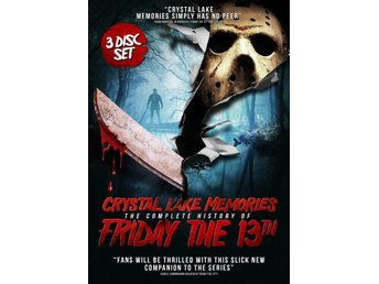 Crystal Lake Memories: The Complete Story of Friday 13th (3 DVD!) Jason Vorhees