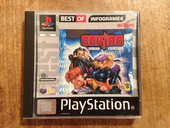 Gekido  - Playstation - PSone - PAL - Komplett - PS