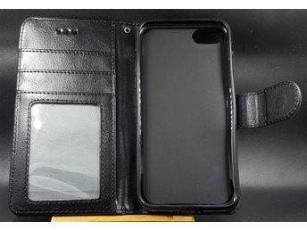 iPhone 7 Fodral i läder med Plånbok ID Kort Standfunktion - örebro - iPhone 7 Fodral i läder med Plånbok ID Kort Standfunktion - örebro