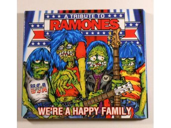 VA - A Tribute To Ramones - We're A Happy Family - CD - 2003