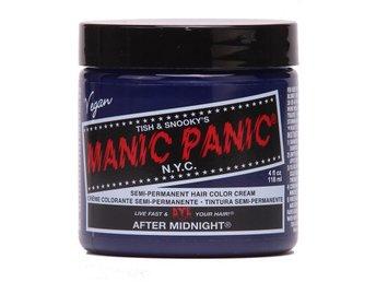 Manic Panic After Midnight Blue Tuff Hårfärg Snabb Leverans - Träslövsläge - Manic Panic After Midnight Blue Tuff Hårfärg Snabb Leverans - Träslövsläge