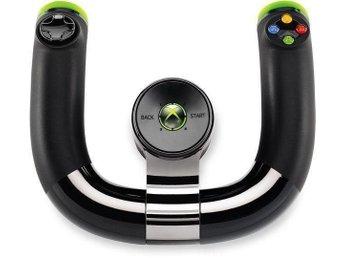 Microsoft Xbox 360 Wireless Speed Wheel (Bra skick) ! - Båstad - Microsoft Xbox 360 Wireless Speed Wheel (Bra skick) ! - Båstad