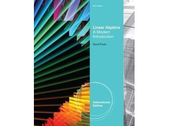 Linear Algebra A Modern Introduction, International Edition av David Poole
