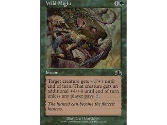MTG-kort: Wild Might [Prophecy] - Hova - MTG-kort: Wild Might [Prophecy] - Hova