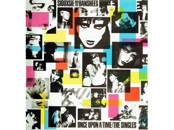 SIOUXSIE AND THE BANSHEES - ONCE UPON A TIME. THE SINGLES. LP