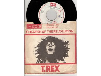 T Rex – Children of the Revolution – YUGOSLAVIAN  ISSUE vinyl 45 – Marc Bolan