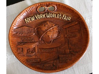 Souvenirfat New York Worlds Fair