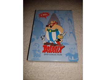 Asterix DVD Collection - 6 disc - Svenskt tal