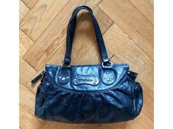 Väska skinn Longchamp