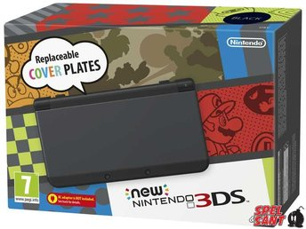 Nintendo New 3DS Svart