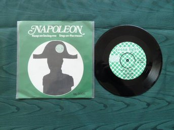 NAPOLEON, KEEP ON LOVING ME, MINI LP, LP-SKIVA - Anderstorp - NAPOLEON, KEEP ON LOVING ME, MINI LP, LP-SKIVA - Anderstorp
