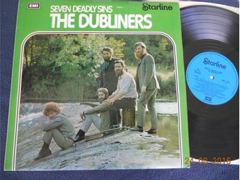 THE DUBLINERS - Seven deadly sins, LP Starline UK 1972