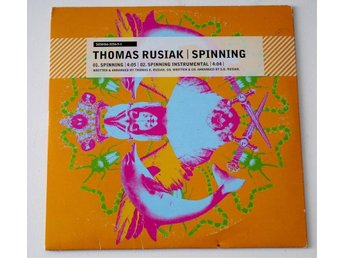 Thomas Rusiak / Spinning CD pappersomslag