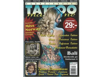 SCANDINAVIAN TATOO MAGAZINE NR 3.2009- MISS NORWAY!
